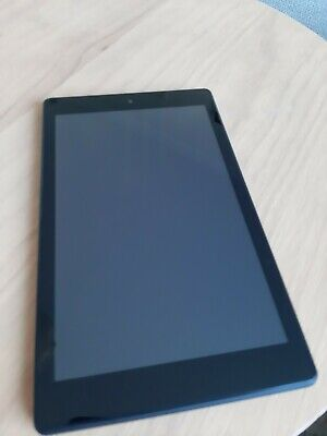 "Amazon Kindle Fire HD8 8th Gen 8"" e-Reader 16GB Tablet Wi-Fi BLACK"