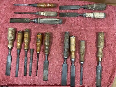Old Chisels , BERG, Titan Marples Collectables