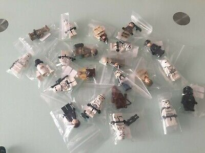Lego 6 Genuine Random Star Wars Minifigures Lot Clone troopers Stormtroopers