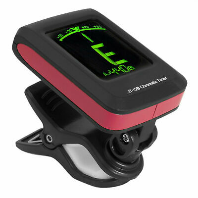 JT-12B Tiger Clip On Chromatic Guitar Tuner For Electric Acoustic Bass & Ukulele