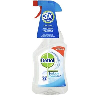 Dettol surface cleaner 750ml -Free Uk Delivery