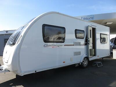 2012 Swift Challenger Sport 586, 6 Berth Touring Caravan With Fixed Bunks.......