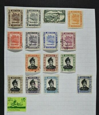 BRITISH COLONIES / TERRITORIES, a collection on 12 album pages, mainly used.