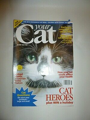 Your Cat Magazine - Vintage From June 1995 -  Good Condition