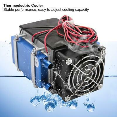 12V 280W 4-Chip Thermoelectric Semiconductor Peltier Air Cooler 4*TEC1-1270 18A