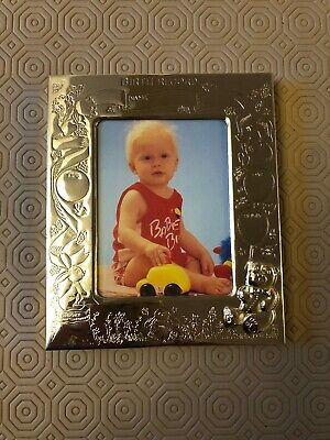 Silver Plated Photo Frame Baby Gift