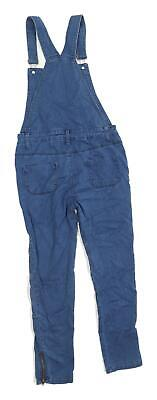 Denim Co Girls Blue Dungarees Jeans Age 11-12