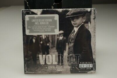 New Sealed 2019 Volbeat Rewind Replay Rebound Limited Deluxe Edition w/Bonus CD