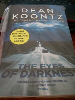 The Eyes of Darkness Dean Koontz like New Paperback