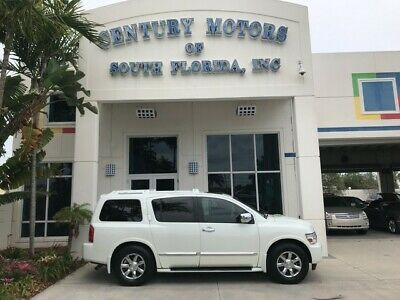 2007 INFINITI QX56  Rear DVD BOSE Stereo Front and Rear Captains Chairs 3rd Row Sunroof