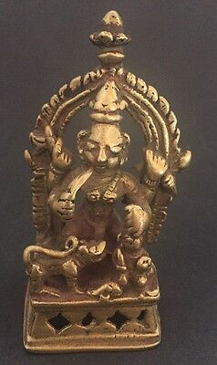 Indien Antique Indian Hindu Bronze Asia Buddha China Nepal Krishna Shiva