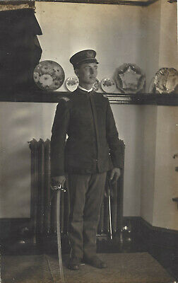 RPPC - Ohio National Guard Infantry Officer with Sword - State Insignia