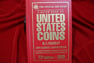 The Official 2020 Red Book Hard Cover Edition, Guide Book Of United States Coins