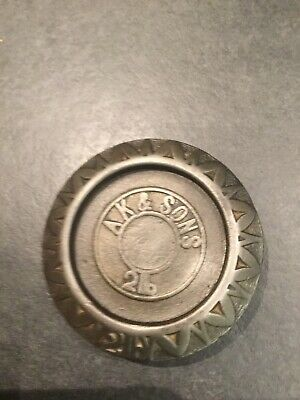 A.K.&sons 2 Lb  Cast Iron Weight