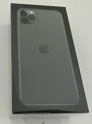 Apple iPhone 11 Pro Max 512GB Midnight Green Unlocked A2218 New Sealed RRP £1499