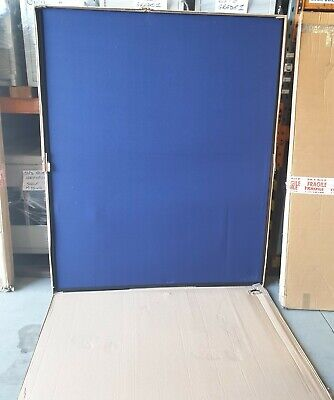 Office partition / room divider screen Blue 1450mm x 1800mm