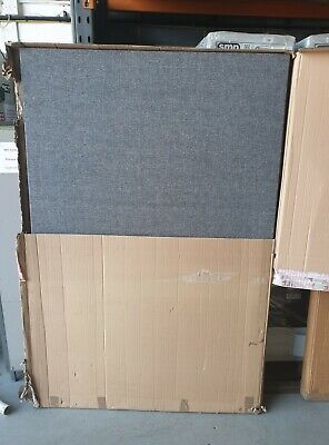 Office partition / room divider screen Grey 1800mm x 1200mm