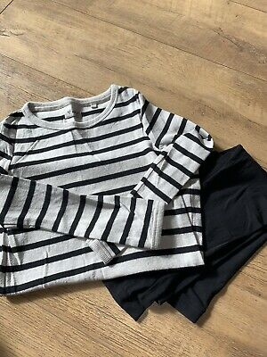 Next Long Line Top With Leggings Age 8 Excellent Condition