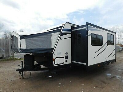 2015 15 Forest River Palomino 190X Pop Out Camper Travel Trailer RV LOW RESERVE