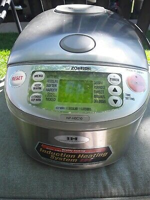 Zojirushi Induction Heating System hbc10 Japan rice steamer cooker S1