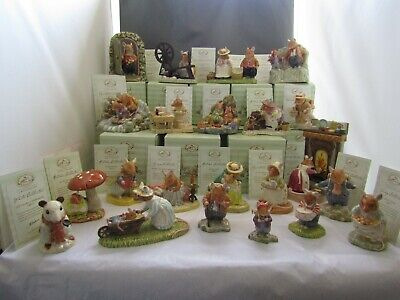 Brambly Hedge  Jill Barklem Royal Doulton Figures  Dbh1 - Dbh69 Select From List