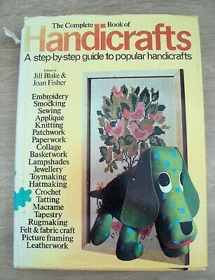Vintage Complete Book of Handicrafts Octopus Books 1973