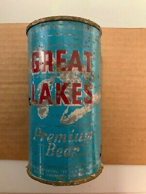 Flat Top Great Lakes Beer Can South Bend IN