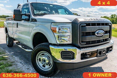 2012 Ford F-250 XL 2012 XL Used 6.2L V8 16V Automatic 4X4 Pickup Truck 8 ft bed 1 owner tool boxes