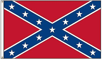 NEW 3x5' Rebel Dixie South Southern Heritage CSA Con federate Battle Flag