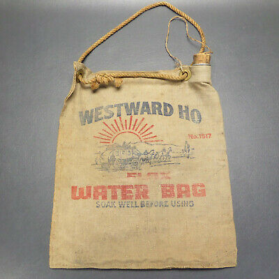 Westward Ho Flax Water Bag No. 1517