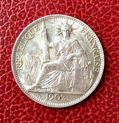 France - Indochine - French Indochina - Superbe 20 cent 1902