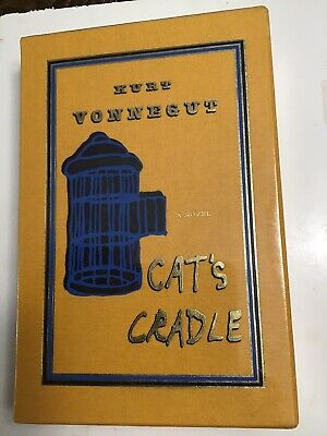 Easton Press CAT'S CRADLE by Kurt Vonnegut SIGNED Deluxe Limited  Edition