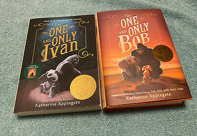 The One and Only Bob~Katherine Applegate SIGNED 1st Edition & 1st Book Paperback