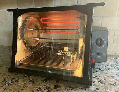 Ronco Jr Showtime Rotisserie & BBQ Oven Black 2500  - TESTED