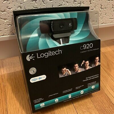 Logitech HD Pro C920 Web Cam 1080p Webcam In Box