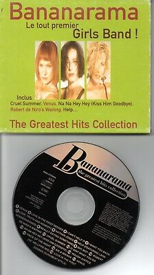 Bananarama The Greatest Hits Collection Rare French Cd Unique Slipcase