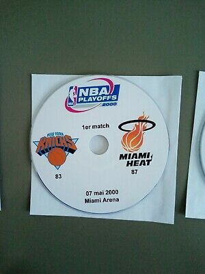 NBA Playoffs 2000 New York Knicks vs Miami Heat (lire l'annonce)