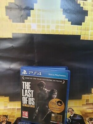 The Last Of Us prima stampa Per Ps4 Playstation 4 Pal Italiano