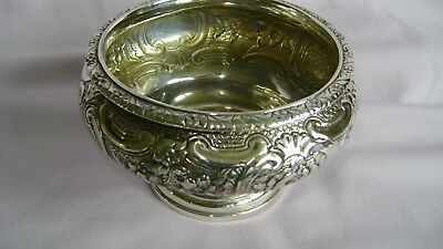 ANTIQUE SOLID SILVER BOWL EDINBURGH 1827? JAMES McKAY