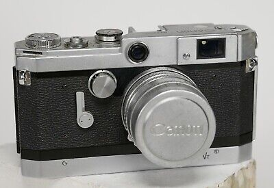 Canon Model VT Rangefinder with Canon 50mm f1.8 lens