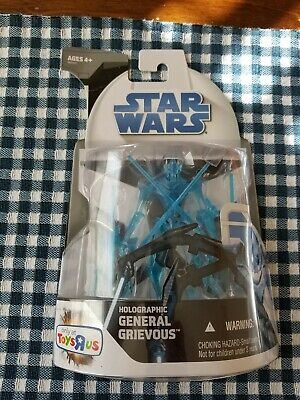 Hasbro Star Wars The Clone Wars Holographic General Grievous Action Figure TRU