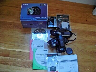 Canon PowerShot SX40 HS All Original With Extras