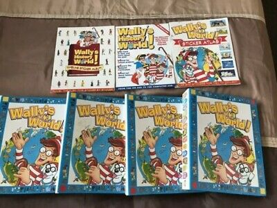 Wallys World Weekly Magazines full collection