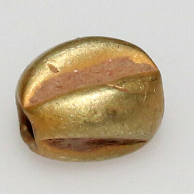 Circa 1000 BC Ancient Egyptian Gold Bead - PERFECT QUALITY