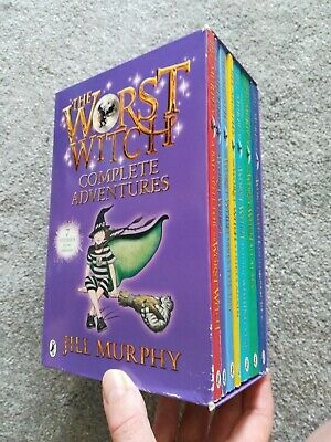 The Worst Witch Complete Adventures Book Set By Jill Murphy, x7 books, good...