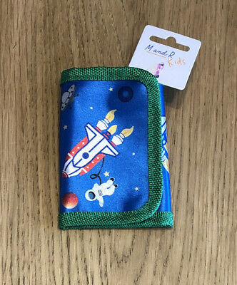 Space Planets Personalised Boys Kids Wallet
