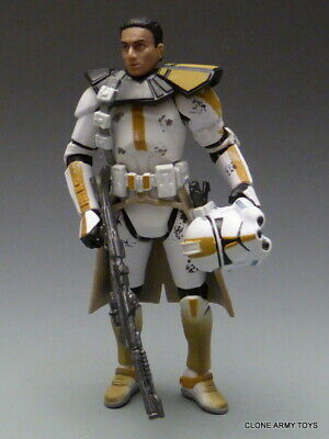 STAR WARS Clone Trooper ARC COMMANDER 327TH EVOLUTIONS COLLECTION CLONE WARS