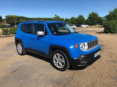 Jeep Renegade 1.4T MultiAirII Limited (s/s) 5dr PETROL MANUAL 2016