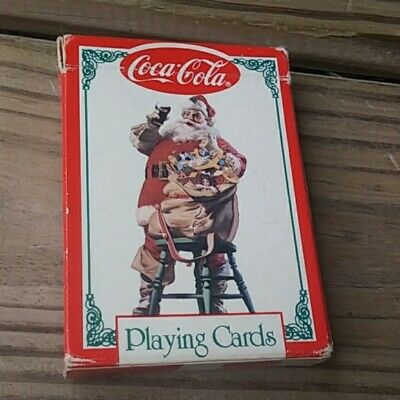 """Vintage 1994 """" COCA-COLA"""" Playing Cards Poker Deck"""