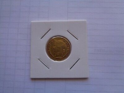 Philippines Spanish Isabel II Gold Coin - 4 Pesos 1865